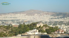 Panoramic view from Acropoles Athens