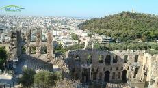 Teatrul Dyonissos -panorama -Atena