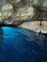 Blue Caves incredible water
