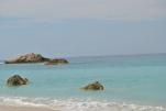 Rocks at Kathismata Beach Lefkada