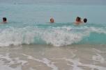 Waves at Kathismata Beach Lefkada