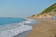 Waves at Gialos Beach