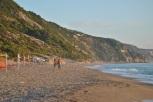 Plimbare pe plaja Gialos Lefkada