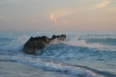 Sunset at Gialos Beach Lefkada