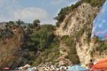 Treptele de la plaja Agiofili Lefkada