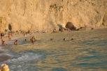 Swiming at Porto Katsiki Lefkada