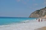 Waves at Egremni Beach Lefkada