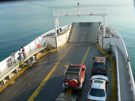 Traversarea cu ferry
