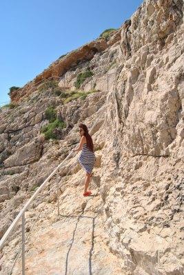 Trepte spre Korakonissi
