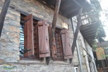 Old windows Paleo Pandeleimonas Village