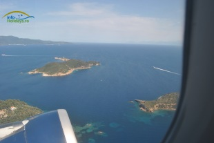 Panorama insula Skiathos