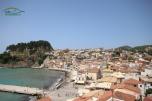 Panorama view Port Parga