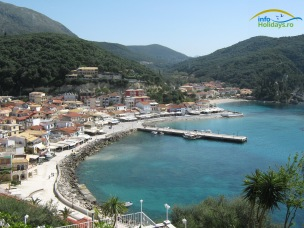 Priveliste port Parga