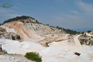 Cariera de marmura Thassos