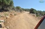 Drum forestier spre Giola Thassos