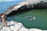 Giola swimming Thassos