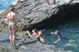 Asa se iese din apa la Giola Insula Thassos