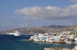 Mykonos port