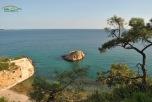 Plaja Metalia - o mica plaja izolata in partea dreapta a plajei Metalia