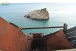 Plaja Metalia - rampa de incarcare a vapoarelor cu minereu de fier