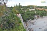 Plaja Metalia - vedere asupra plajei de la rampa de incarcare a minereului de fier