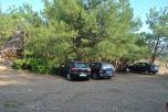 Metalia Beach - parcarea neamenajata, gratuita