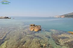 Plaja Aliki - locul fostei cariere