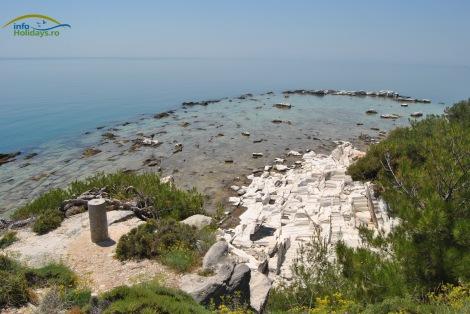 Plaja Aliki - panorama