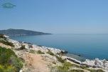Aliki Beach - vedere de la punctul de panorama