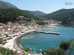 Parga Beach - vedere generala de la fortareata venetiana