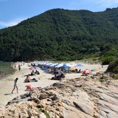 Plaja Paradise partea dreapta