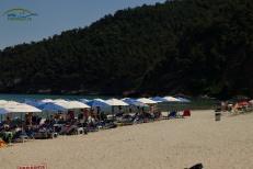 Sezlonguri Plaja Paradise Thassos