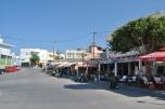 Kefalos Kos - strada principala din satul de pe versant