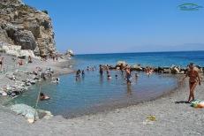 Embros Thermae Kos - Izvoarele cu apa termala 38-50 grade celcius