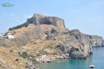 Lindos Insula Rodos - vedere panoramica asupra Acropolei