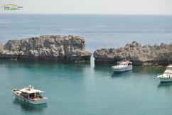 Lindos Insula Rodos - golful plajei Agios Pavlos