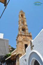 Lindos Insula Rodos - stil venetian al constructiilor Bisericilor