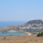 Lindos Insula Rodos - vedere panoramica