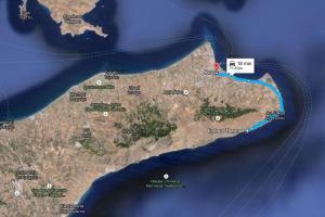Harta Embros Thermae - Insula Kos