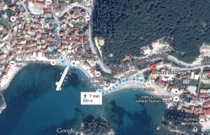Harta Parga Beach