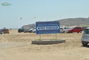 Prasonisi Beach - Parcare