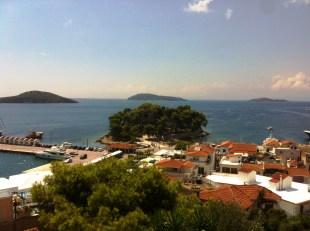 Insula Skiathos - vedere de la Agios Nicholaos