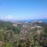 Muntele Olimp - vedere generala asupra Castrului Platamonas