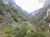 Muntele Olimp - traseu spre Cada lui Zeus
