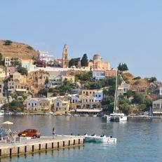 Insula Symi - vedere de ansamblu