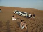 In desert nu te saturi sa faci poze!