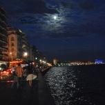 Plimbare seara -Promenada - Salonic