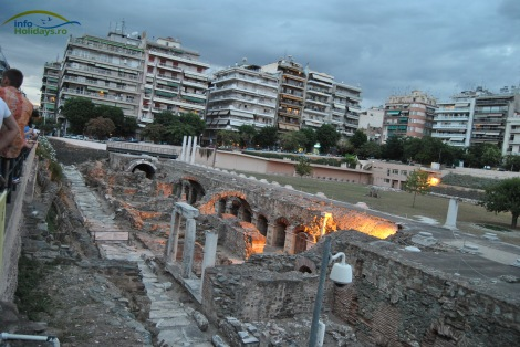 Roman Agora Salonic