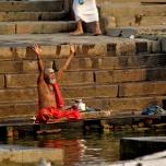 India - Varanassi - Rugaciune si spiritualitate!