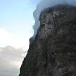 Norvegia - Geiranger - peisaj ireal dimineata in fiord